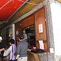 露營區的小店(武陵農場雖然風景優美,但在吃的方面可選擇的不多)