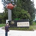 福壽山農場的茶廠,不過都沒看到茶,裡面現在都是蘋果!