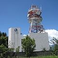 福壽山農場入口處的中華電信基地台