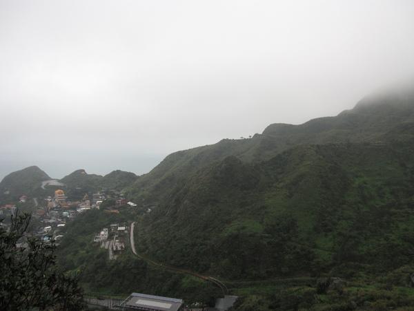 神社的view不錯,可以眺山