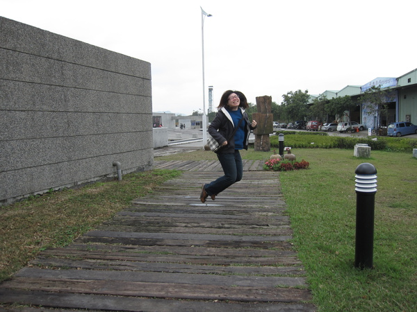 Jump!難得看到有躍動感的烏龜哪 XD