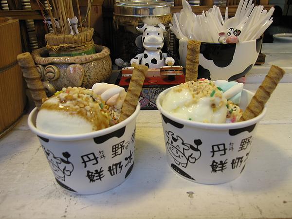左邊是烏龜的沖繩黑糖口味,右邊是我的水果酒口味