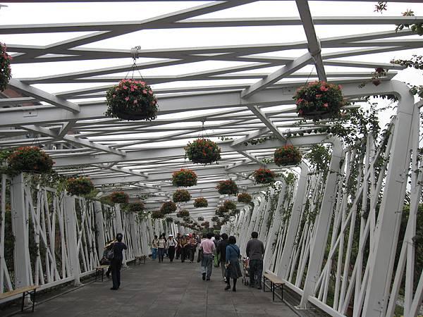 美術館園區和新生園區中間會經過的隧道之二