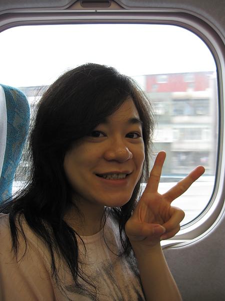 高鐵上自拍系列--我的獨照