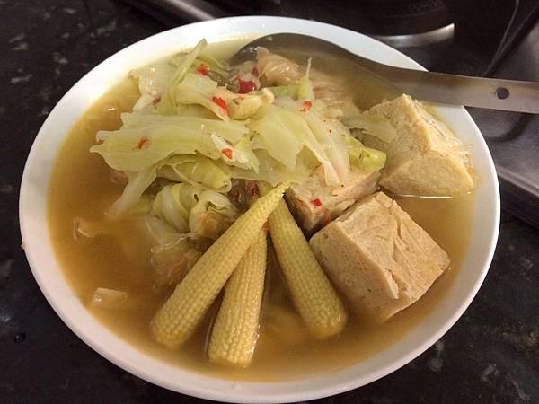 泡菜冬粉煲