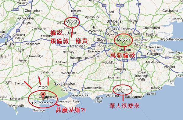 bournemouth地理位置