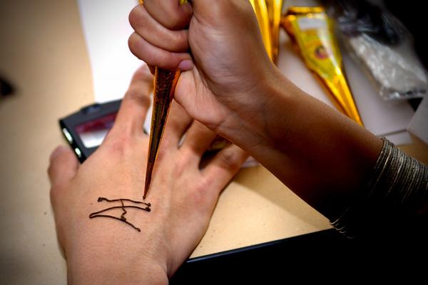 印度人的tatoo