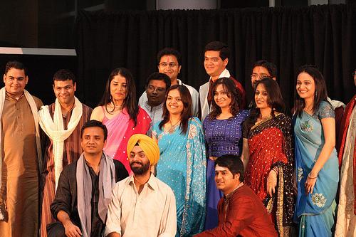 印度人的fashion show