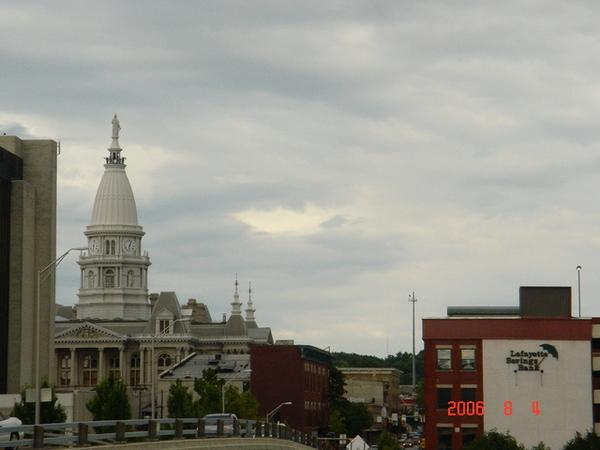 Lafayette downtown