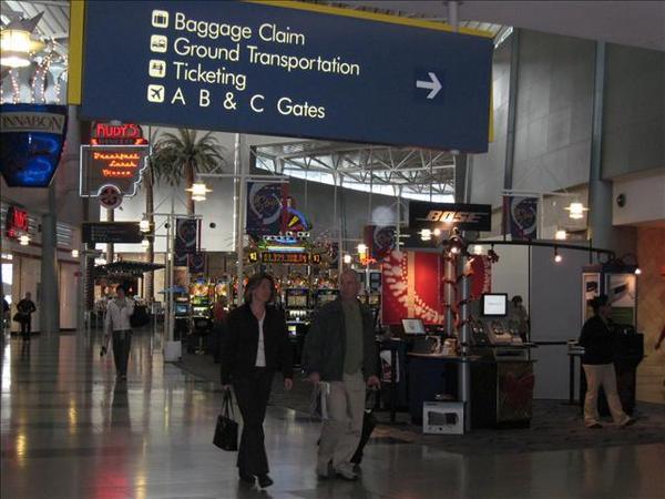 機場就有吃角子老虎!