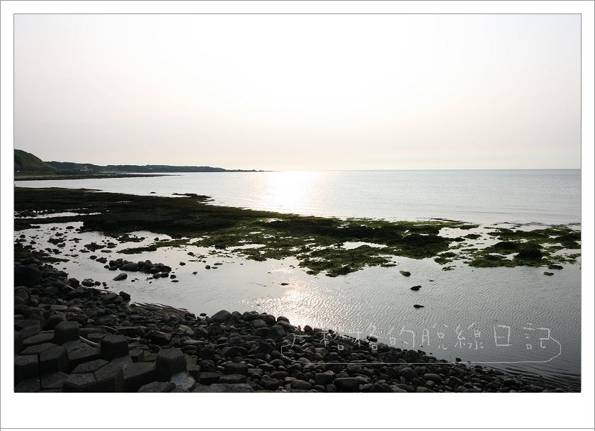 北海暗的夕陽.jpg