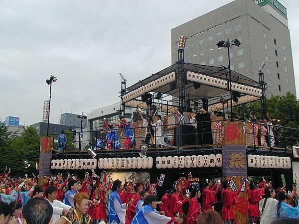 大通公園裡的舞台3
