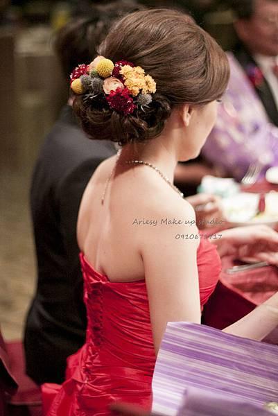 新秘愛瑞思,arisey,新秘推薦,徐州路2號,新娘造型,花藝設計,歐美編髮,自然清透妝感,復古旗袍造型