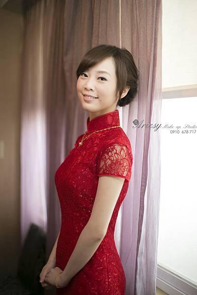 ariesy,愛瑞思,新娘秘書,新秘,編髮,鮮花造型,新娘秘書教學,台北新秘