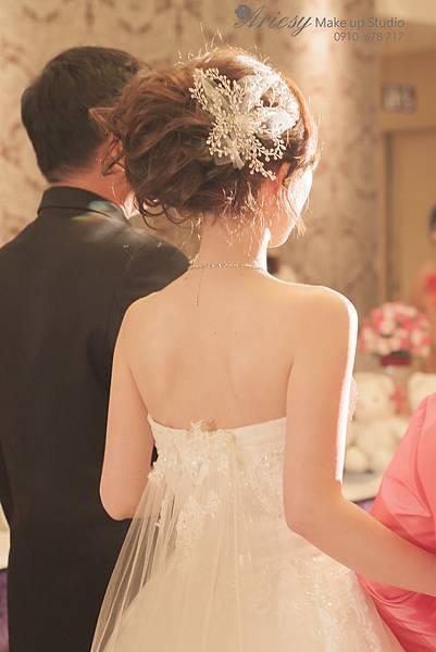 ariesy,愛瑞思,新娘秘書,新秘,編髮,鮮花造型,新娘秘書教學,美麗華華漾,新秘推薦
