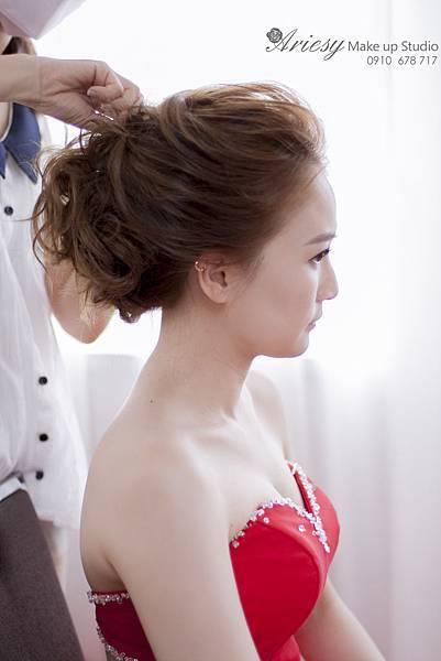 台北新秘,新娘秘書,新秘推薦,歐美風,清透妝感,韓風,愛瑞思,ariesy,時尚風