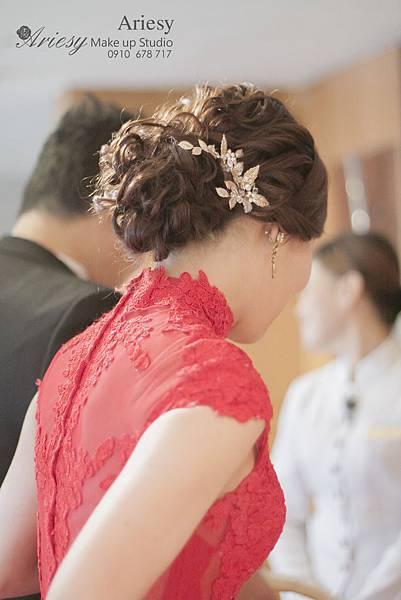 ariesy,愛瑞思,新娘秘書,新秘,線條編髮,韓風,台北花園酒店,新秘推薦,復古風