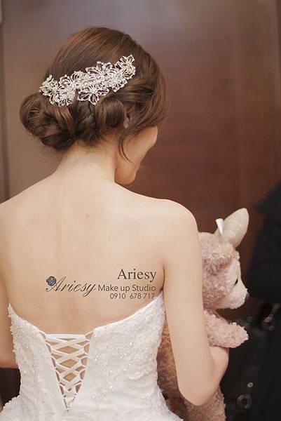 ariesy,愛瑞思,新娘秘書,新秘,編髮,鮮花,維多利亞酒店,新秘推薦,歐美風