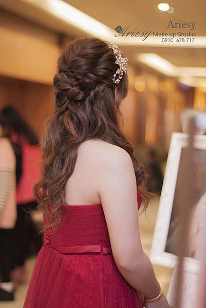 台北新秘,復古風,新娘秘書,新秘,新秘推薦,歐美風,自然輕透妝感,韓風新娘,鮮花新秘,儷宴