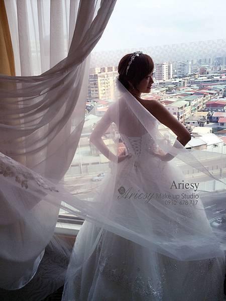 ariesy,愛瑞思,新娘秘書,新秘,編髮,中和福朋喜來登,鮮花造型,新娘秘書教學,新秘推薦