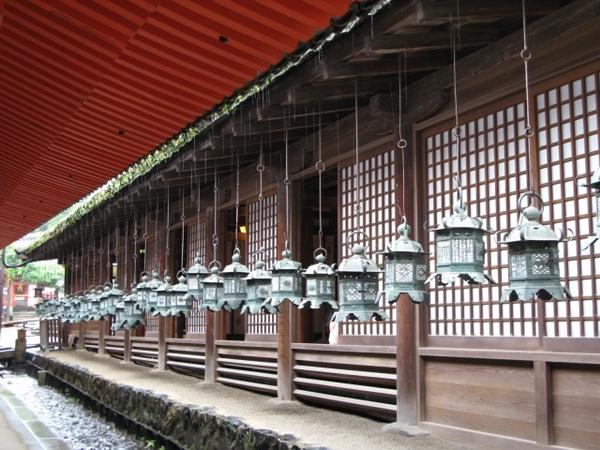 奈良,春日大社廊下