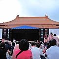 2009.7.11雲門舞集戶外公演下午六點多