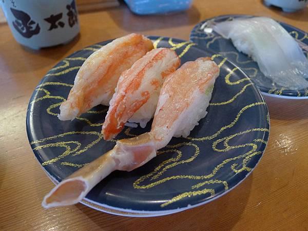 一開始來的蟹腳三味