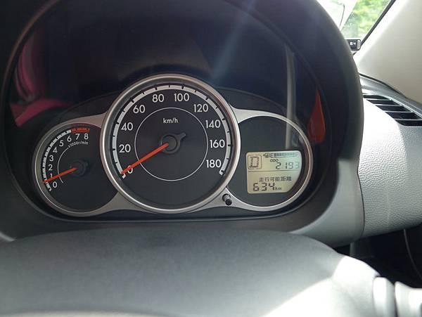 一開始是2193..這台車超新的,我後來發現是7/2過戶~