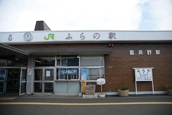 聽說富良野是北海道中心,所以才會說是肚臍~