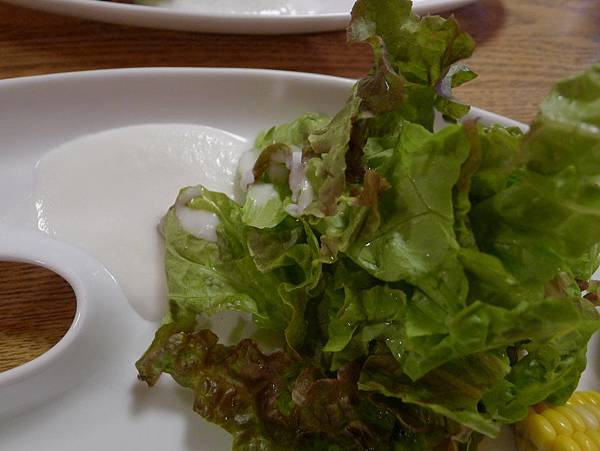 這個生菜有洋蔥味道的醬汁