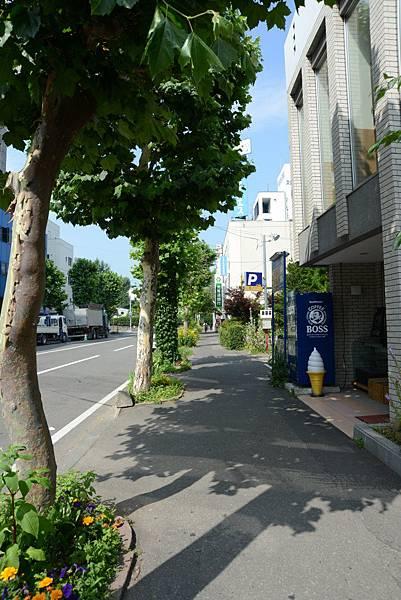 天氣之熱.我們要來逛北海道大學呀~