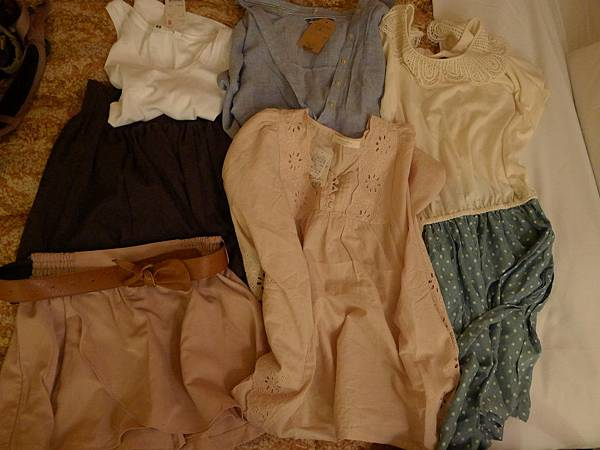我的衣服~