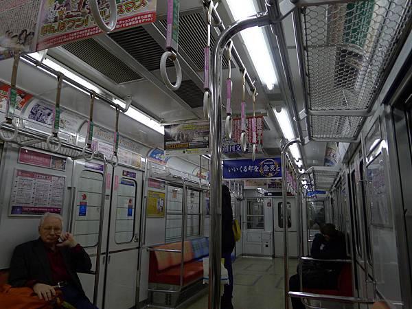 好久不見的大阪地下鐵~