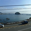 往中村的車~好美的海