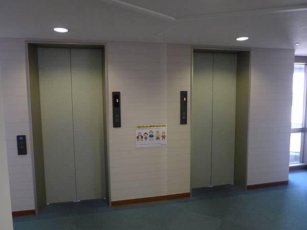 有兩部電梯