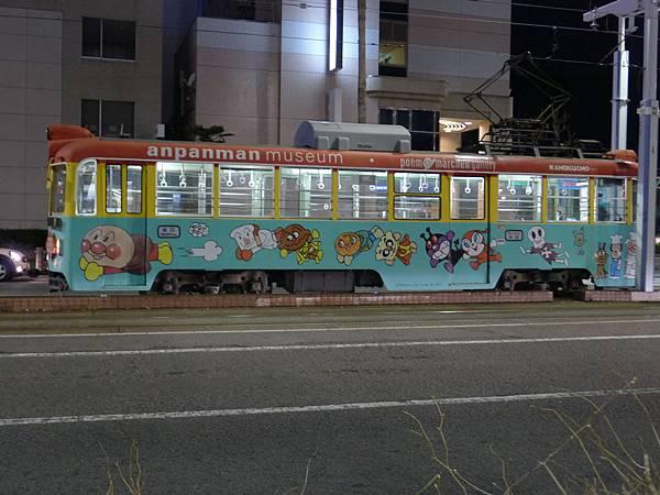 路面電車也有麵包超人