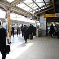 很多黑西裝的東京~