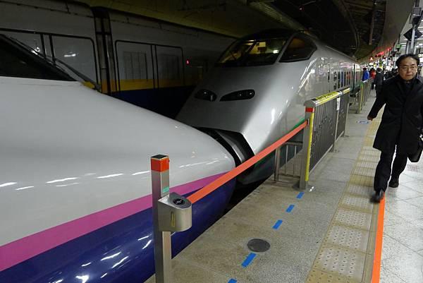 會在福島分開~一個往仙台去