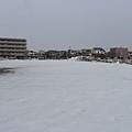 東橫外的雪~
