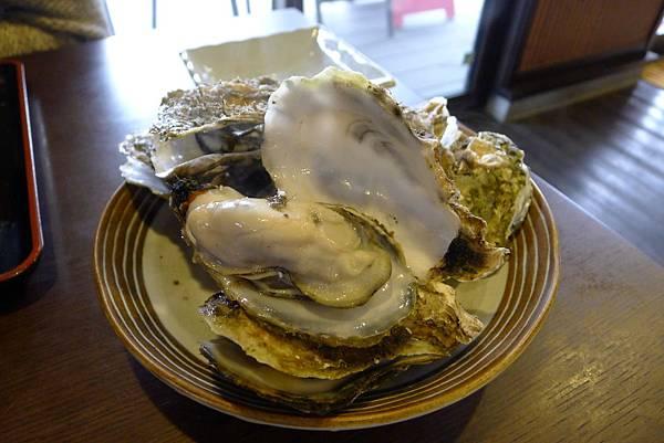 超大的牡蠣