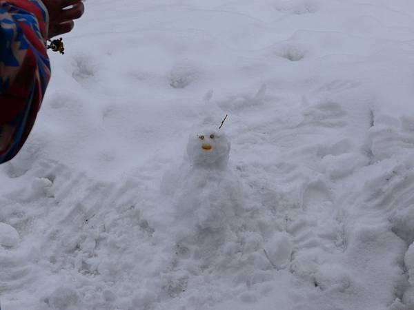 老大堆雪人