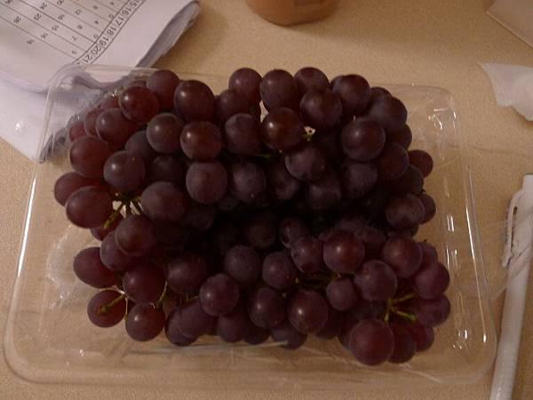今天買的小小葡萄