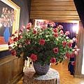 玫瑰園的玫瑰花.