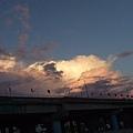 今天的雲很美~~