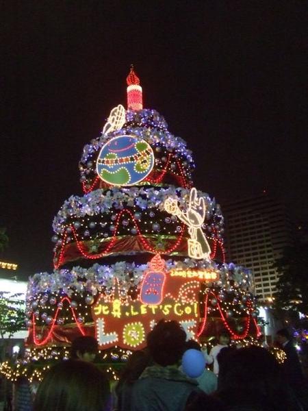 蛋糕耶誕樹