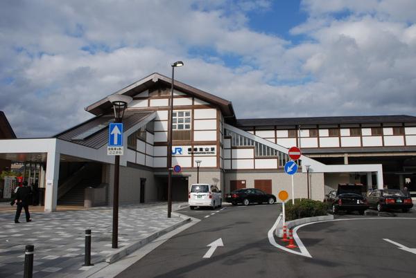 又回到JR嵐山站了~~