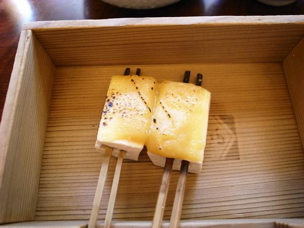 田樂  味曾烤豆腐~好吃