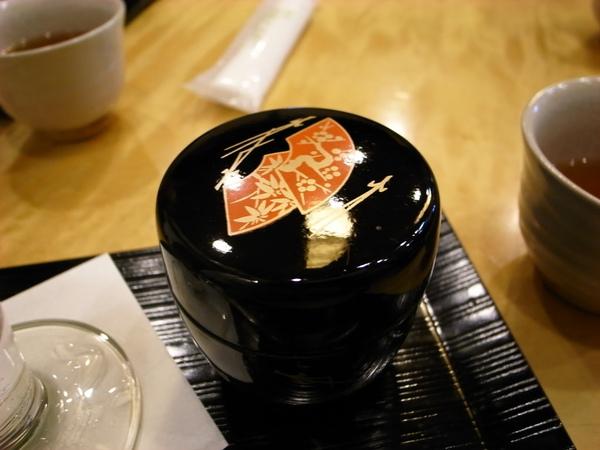很漂亮的裝抹茶粉的罐子