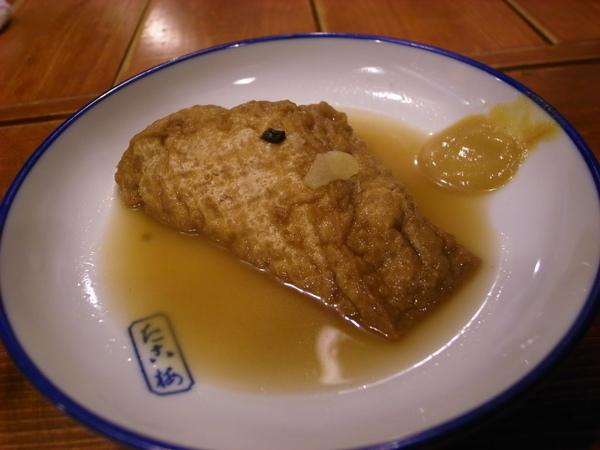吸滿湯汁的油豆腐~他真的好好吃~