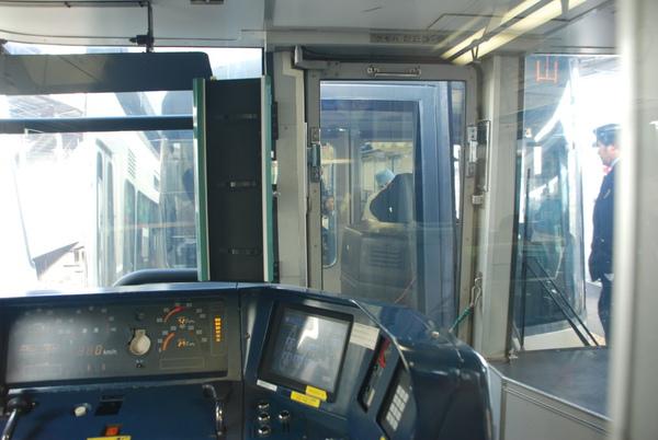 我們的電車會分開~後面的車子要去和歌山~